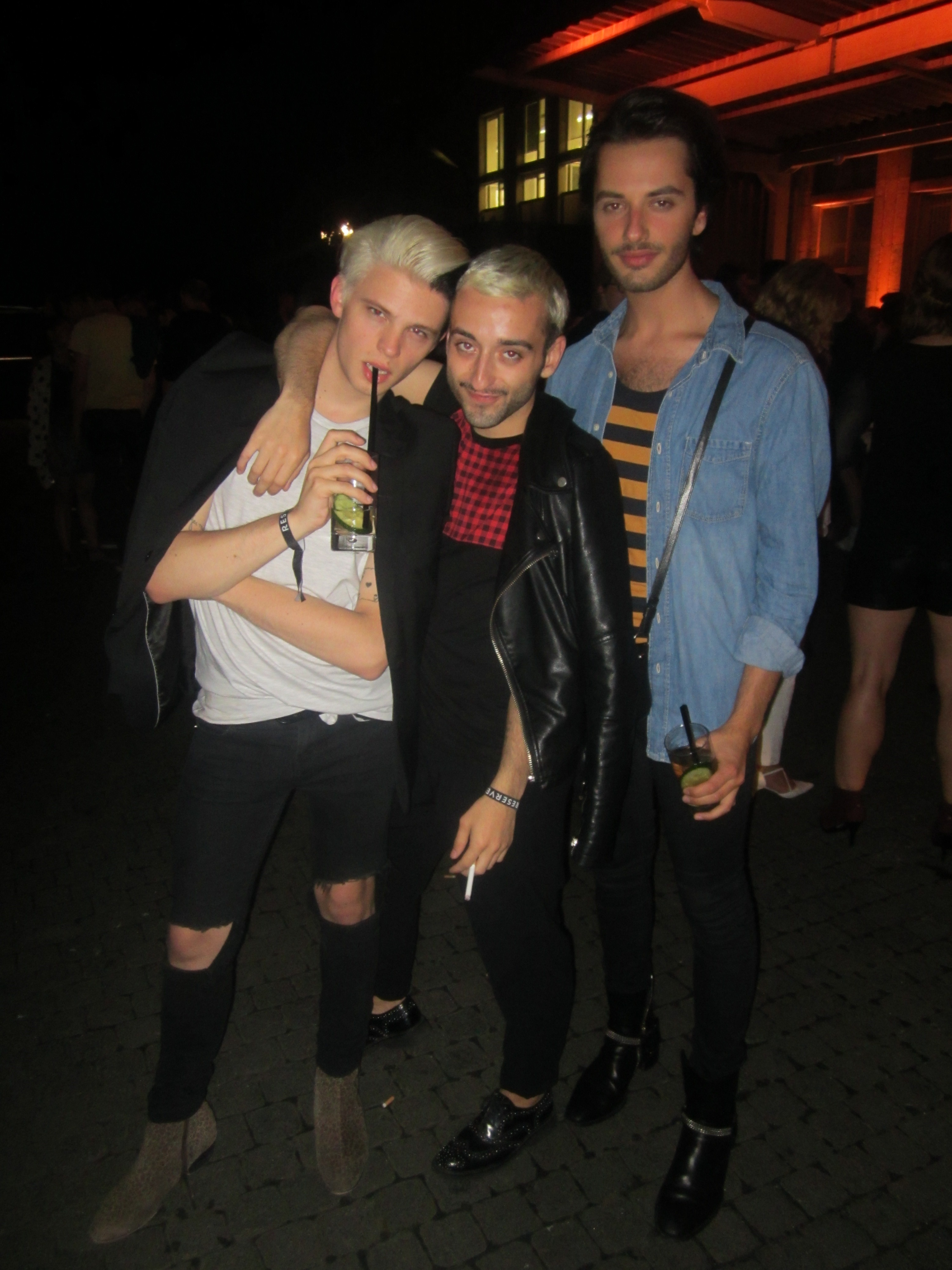 Jan, Mauri & Dustin from 'Homme to go'