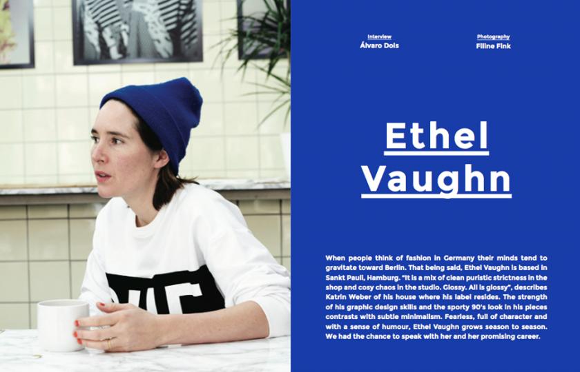Ethel Vaughn, Sicky Magazine