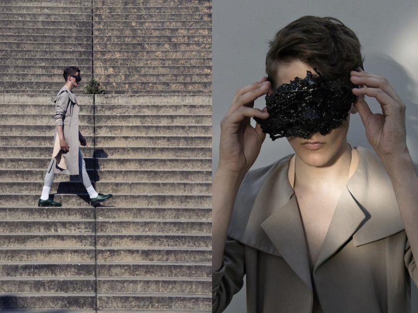 """""""My paper sunglasses"""" WOW Magazine"""