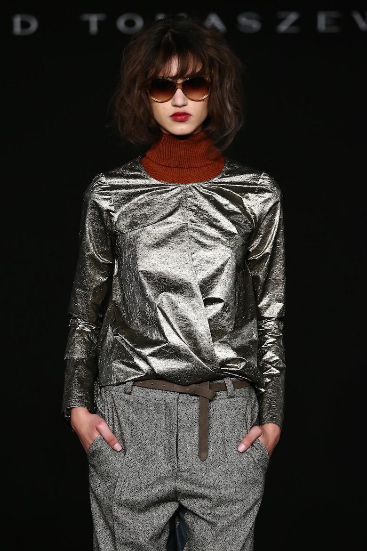 Dawid Tomaszewski Fashion Show Intervention A/W 2016/2017 - Mercedes-Benz Fashion Week Berlin Autumn/Winter 2016