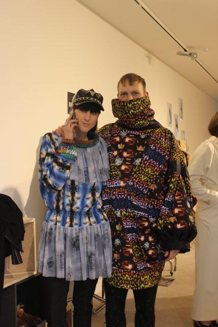 Esther Perbandt & Arne Eberle wearing Tata Christiane