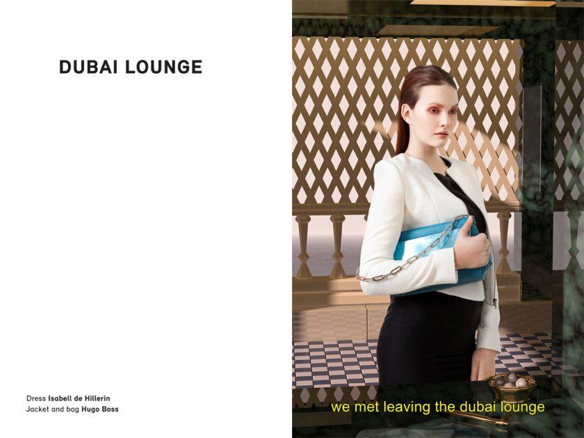 Dubai Lounge Isabell de Hillerin Hugo Boss
