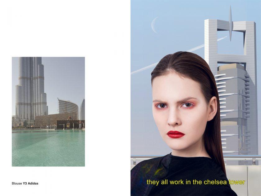 Dubai Lounge Y3 Adidas OE Magazine editorial