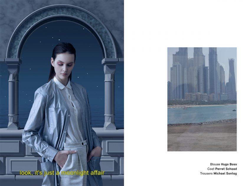 OE MAgazine Editorial Hugo Boss, Perret Schaad, Michael Sontag, Dubai Lounge