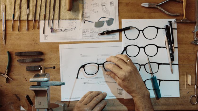 Neubau Eyewear - Design Process